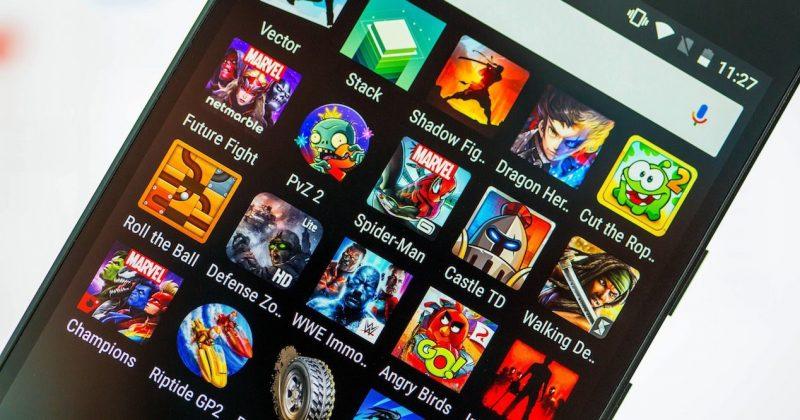 Top juegos más descargados para Android